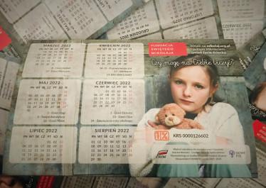Wysłaliśmy szkolne kalendarze do naszych darczyńców